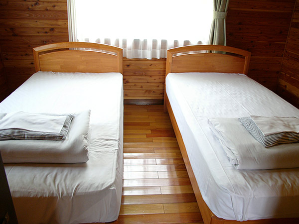 バリアフリーコテージベッドルーム