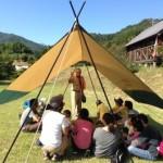 キャンプ初心者講習